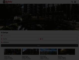 stgeorgeplc.com screenshot