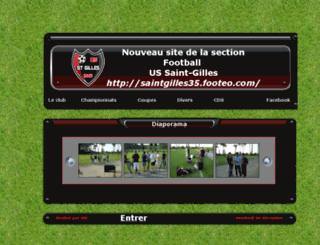 stgilles35.foot.online.fr screenshot