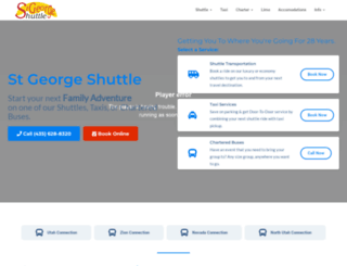 stgshuttle.com screenshot