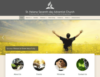 sthelena22.adventistchurchconnect.org screenshot