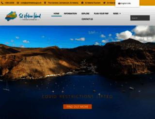 sthelenatourism.com screenshot
