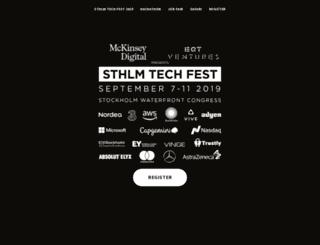 sthlmtechfest.com screenshot