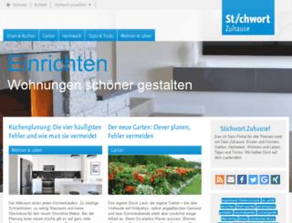stichwort-zuhause.de screenshot