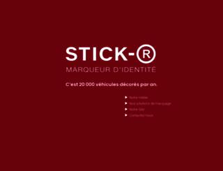 stick-r.com screenshot