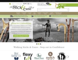stickandcaneshop.co.uk screenshot