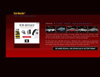 sticker-decals.belanjaweb.com screenshot