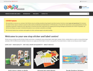 sticker.com.au screenshot