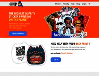 stickerobot.com screenshot