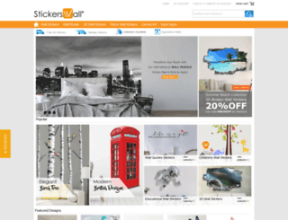 stickerswall.com screenshot