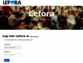 stickybabies.lefora.com screenshot