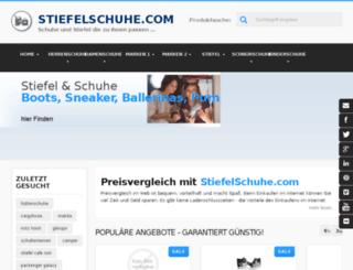 stiefelschuhe.com screenshot