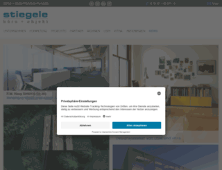 stiegele-bo.de screenshot