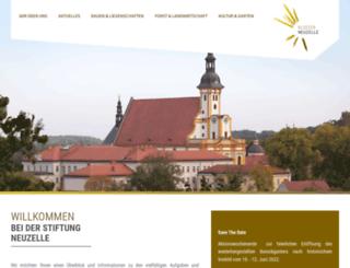 stift-neuzelle.de screenshot