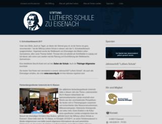 stiftung-luthers-schule.de screenshot