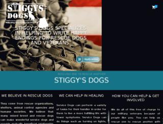 stiggysdogs.org screenshot