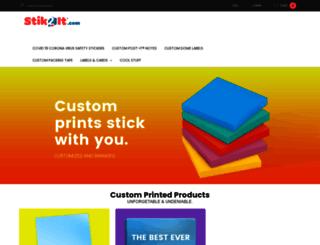 stik2it.com screenshot