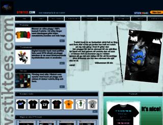 stiktees.com screenshot