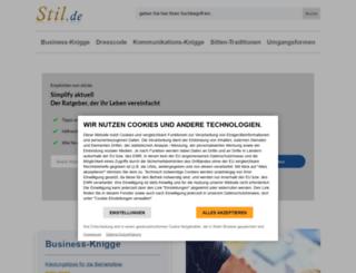 stil.de screenshot