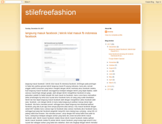 stilefreefashion.blogspot.it screenshot
