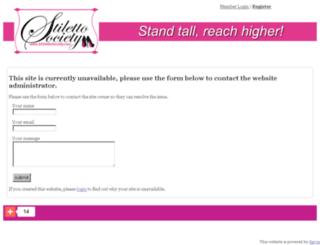 stilettosociety.spruz.com screenshot