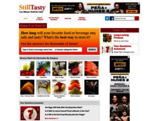 stilltasty.com screenshot