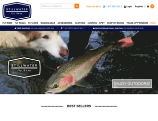 stillwaterflyshop.com screenshot