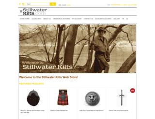 stillwaterkilts.3dcartstores.com screenshot