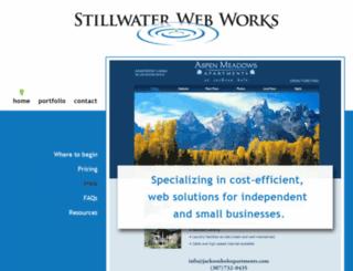 stillwaterwebworks.com screenshot