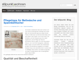 stilpunkt-blog.de screenshot