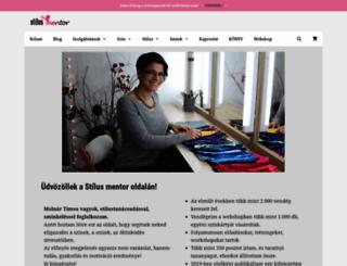 stilusmentor.hu screenshot
