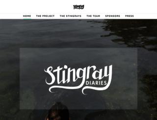 stingraydiaries.weebly.com screenshot