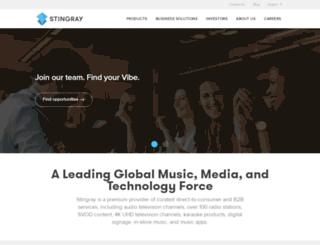 stingraydigital.com screenshot