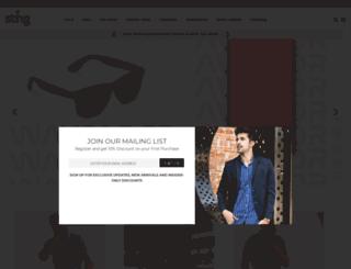 stingshop.com screenshot