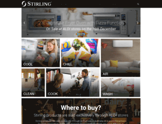 stirlingappliances.com.au screenshot