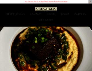 stirlingtavern.com screenshot