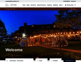 stirrupshotel.co.uk screenshot