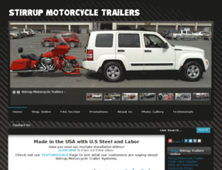 stirruptrailers.com screenshot