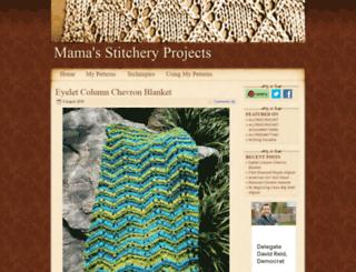 stitcheryprojects.com screenshot