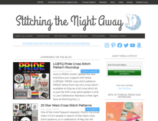 stitchingthenightaway.com screenshot