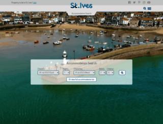 stives-cornwall.co.uk screenshot