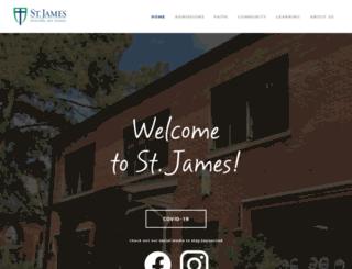 stjameseds.org screenshot
