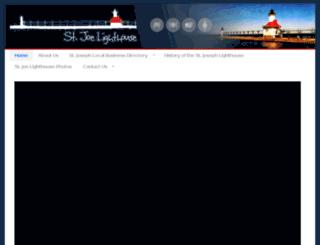 stjoelighthouse.com screenshot