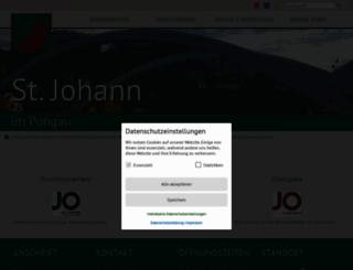 stjohannimpongau.at screenshot