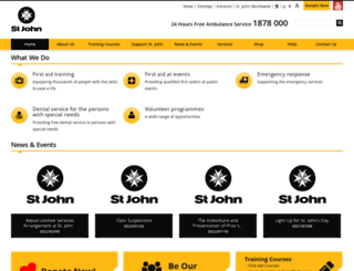 stjohn.org.hk screenshot