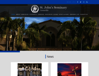 stjohnsem.edu screenshot