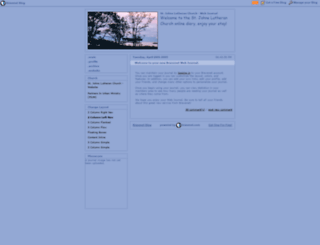 stjohnslutheran.braveblog.com screenshot