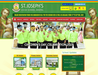stjosephcoed.org screenshot