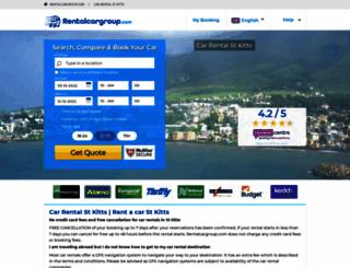 stkitts.rentalcargroup.com screenshot