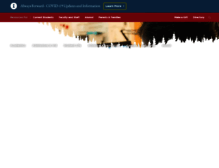 stlawu.edu screenshot