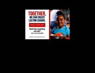 stlfoodbank.org screenshot